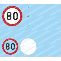Speed limit - 80