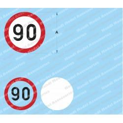Speed limit - 90
