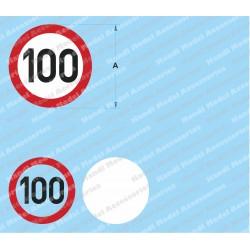 Speed limit - 100
