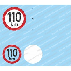 Speed limit - 110 km