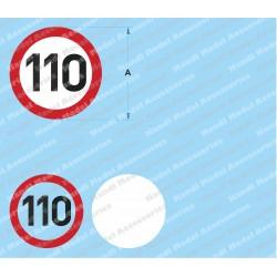 Speed limit - 110