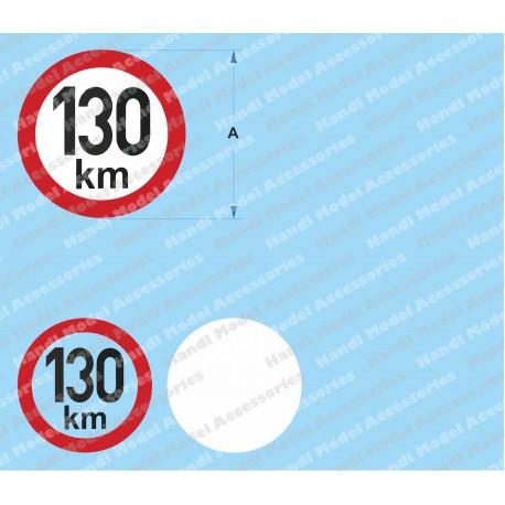 Speed limit - 130 km