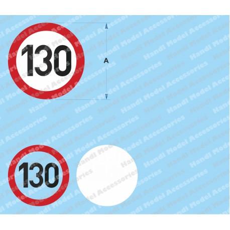 Speed limit - 130
